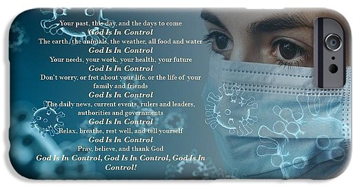 Virus - God Is In Control - Phone Case - Love the Lord Inc