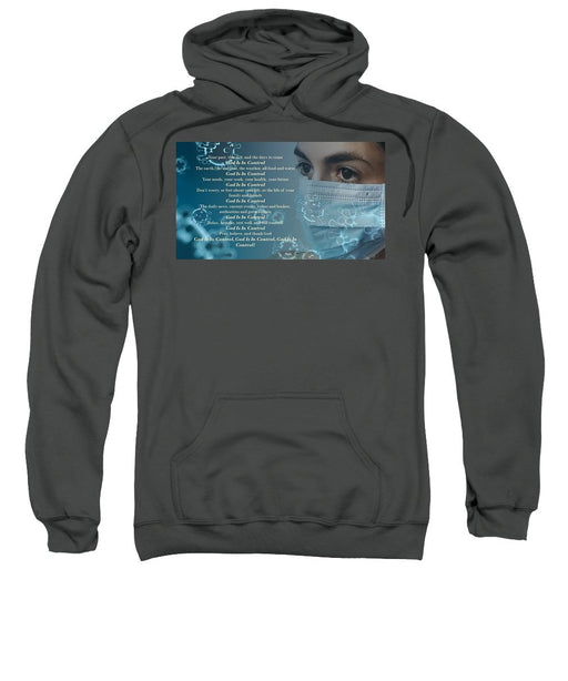 Virus - God Is In Control - Sweatshirt - Love the Lord Inc