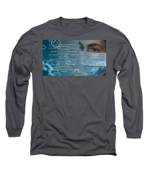 Virus - God Is In Control - Long Sleeve T-Shirt - Love the Lord Inc