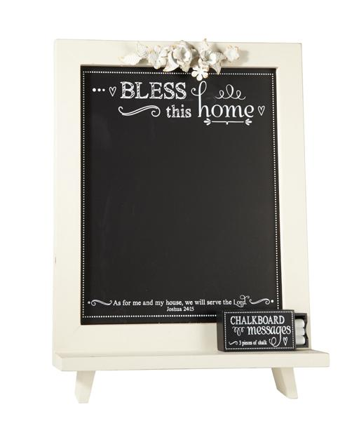 Chalkboard - Bless This Home - Love the Lord Inc