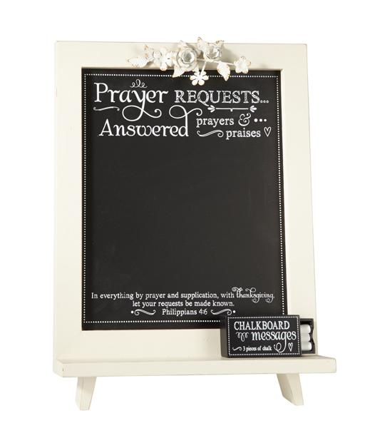 Chalkboard - Prayer Request/Answered Prayers - Love the Lord Inc