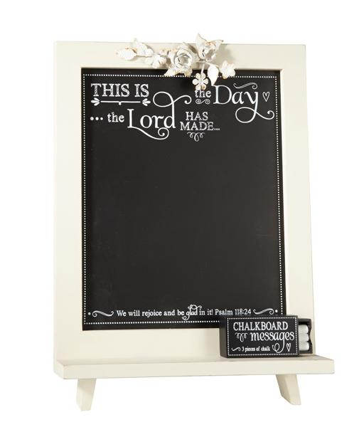 "Chalkboard - ""This is The Day The Lord has Made"" - Love the Lord Inc"