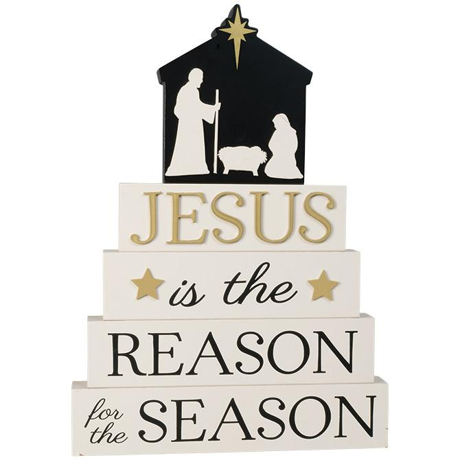 Christian Art - Jesus is the Reason For the Season - Love the Lord Inc