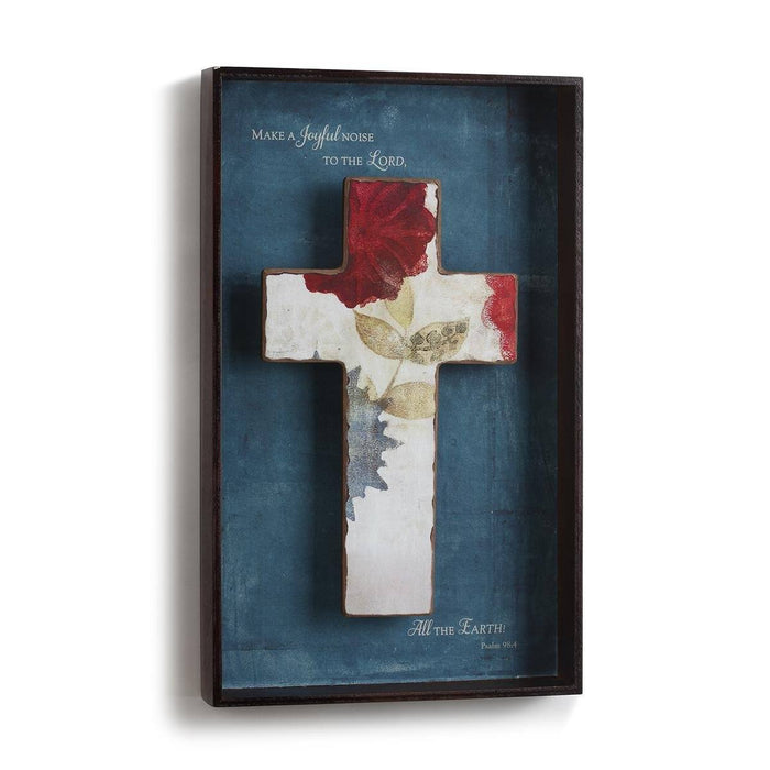 Christian Wall Art - Joyful Noise Wall Art - Love the Lord Inc