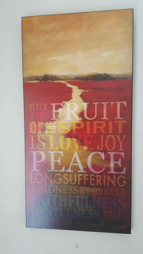 Wall Art - The Fruit of the Spirit - Love the Lord Inc