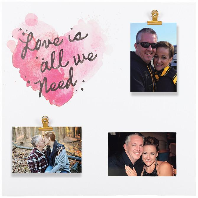 Photo Frame - Clip Picture Frame - Love the Lord Inc