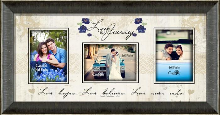 Photo Frame - Love Is A Journey (Christian) - Love the Lord Inc