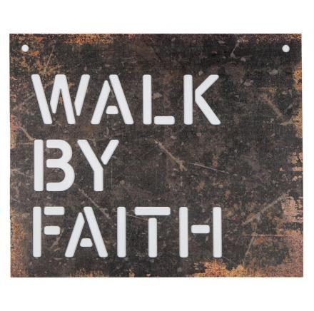 Walk By Faith - Wall Art - Love the Lord Inc