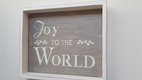 Wall Art - Wall Art - Frame Joy To The World