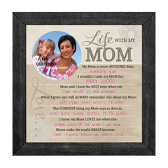 Wall Art - Wall Art - Kid Question Frame Mom