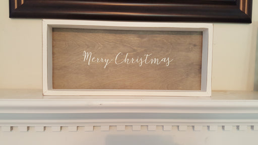 Wall Art - Merry Christmas - Love the Lord Inc
