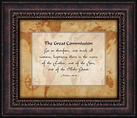 Wall Art - Wall Art - The Great Commission