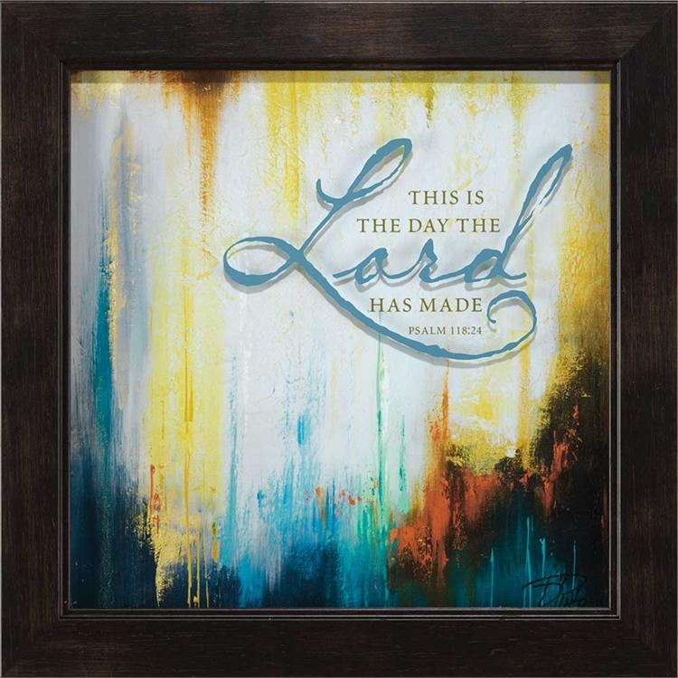 Wall Art - This Is The Day The Lord Has Made - Love the Lord Inc