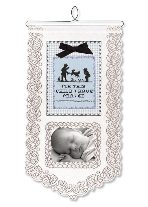 Wall Hanging - For This Child I Have Prayed (Boy) - Love the Lord Inc
