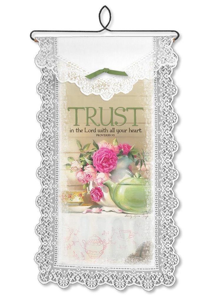 Wall Hanging - Trust In The Lord - Love the Lord Inc