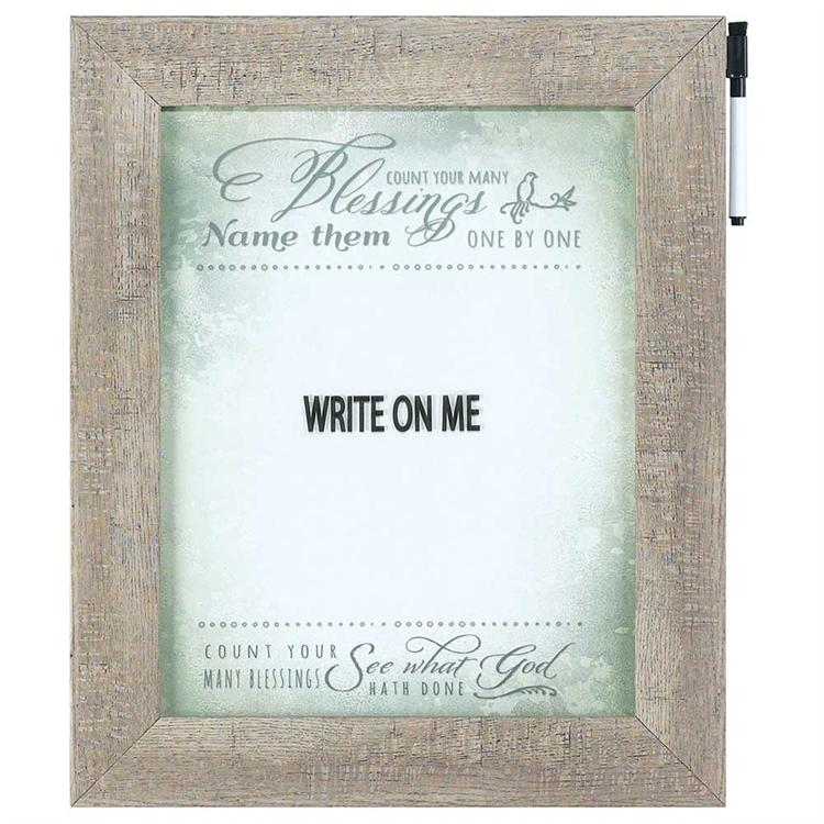 Write Board - Count Your Many Blessings - Love the Lord Inc