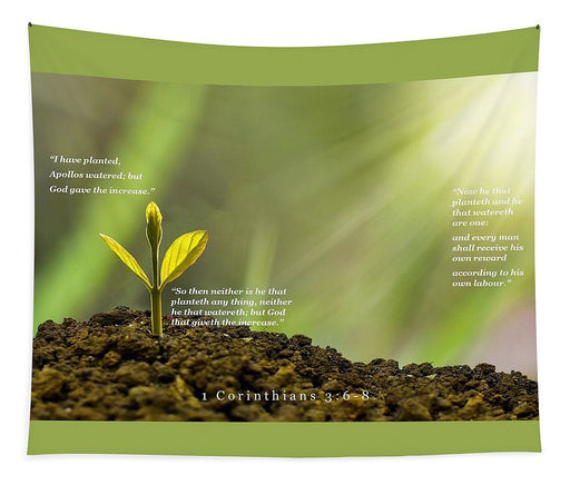 We Plant God Waters - Tapestry - Love the Lord Inc