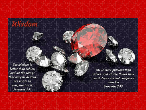 Wisdom Rubies and Proverbs - Puzzle - Love the Lord Inc