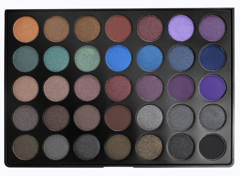 Morphe 35D Dark Smoky Eyeshadow Palette