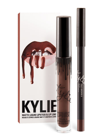 Kylie Lip Kit - True Brown K