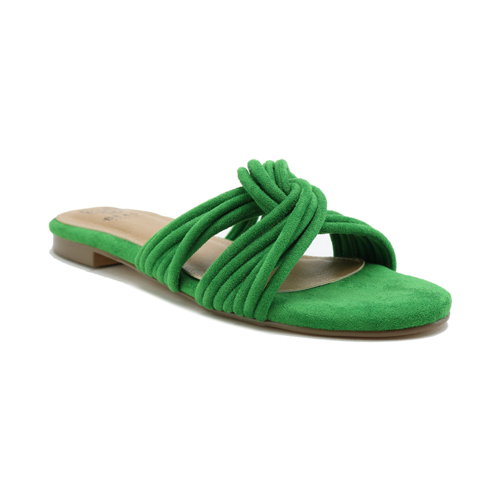 Kara slide in green