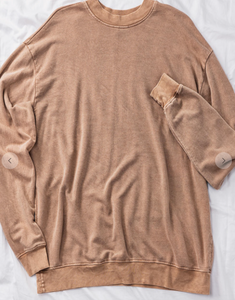Your favorite pullover taupe