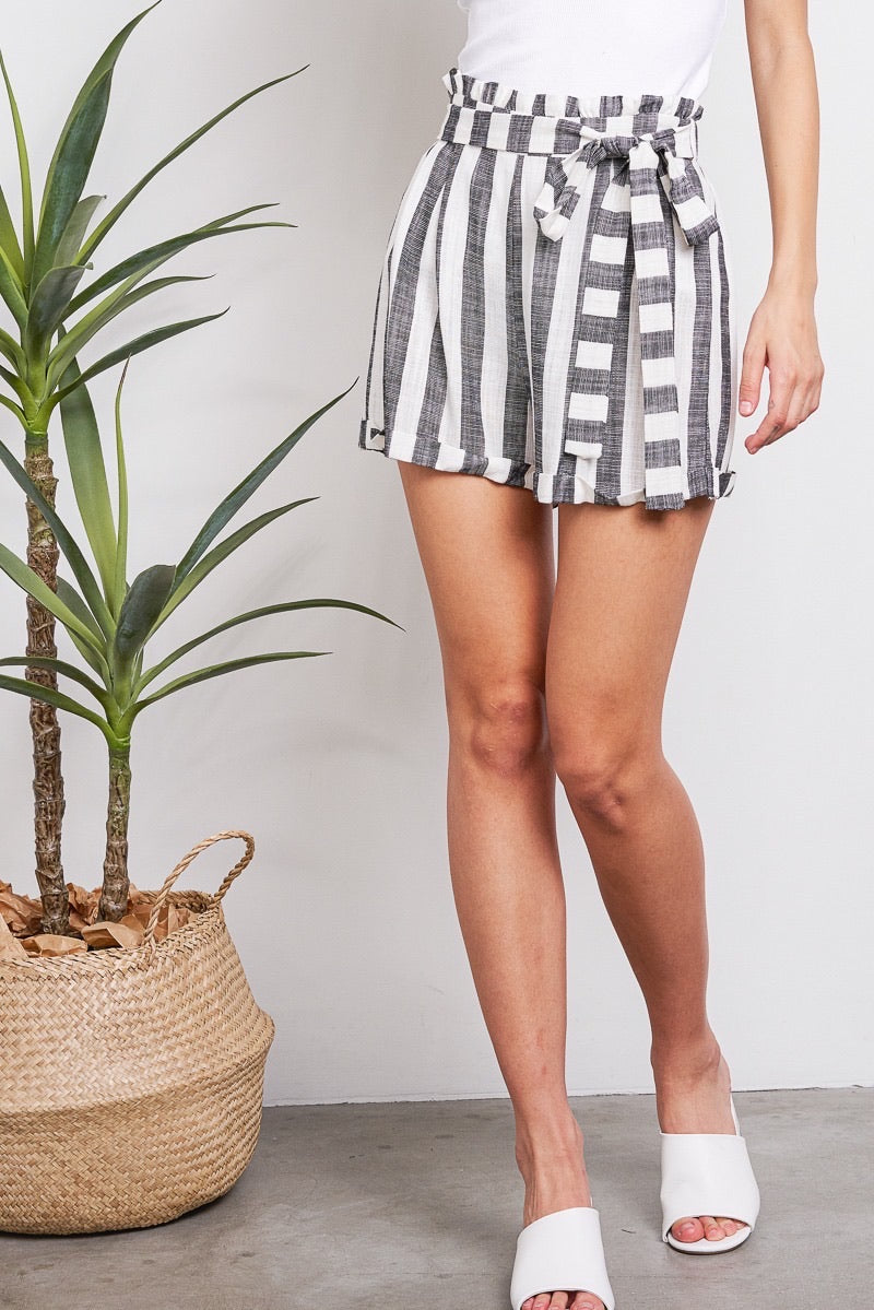 Villa stripe shorts