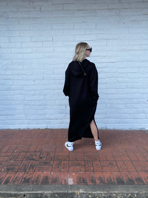 On the move hoodie dress