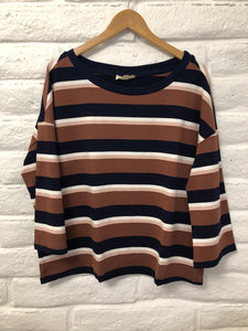 Lou stripe top
