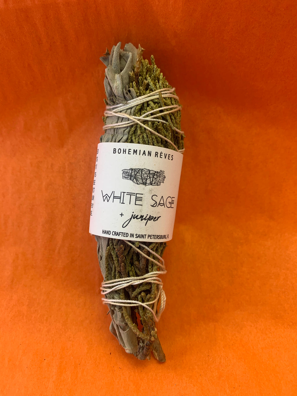 White Sage and Juniper Smudge Stick