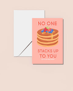 Stacks Up Mother's Day card