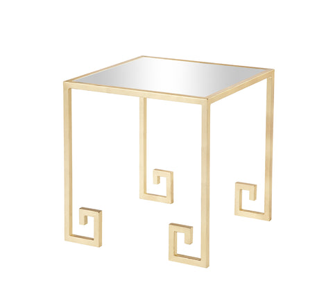 Shiloh Side Table Gold Leaf
