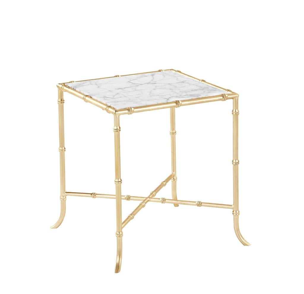 Tristan Side Table Gold Leaf
