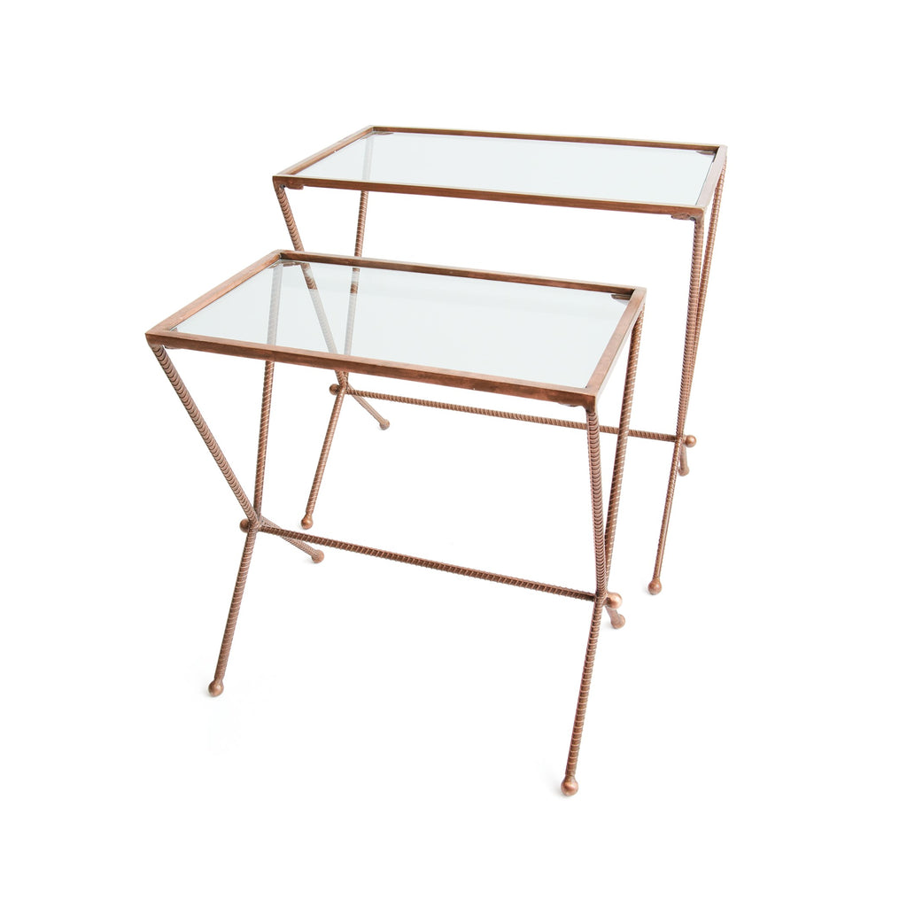 Set of Two Trevoli Nesting Tables
