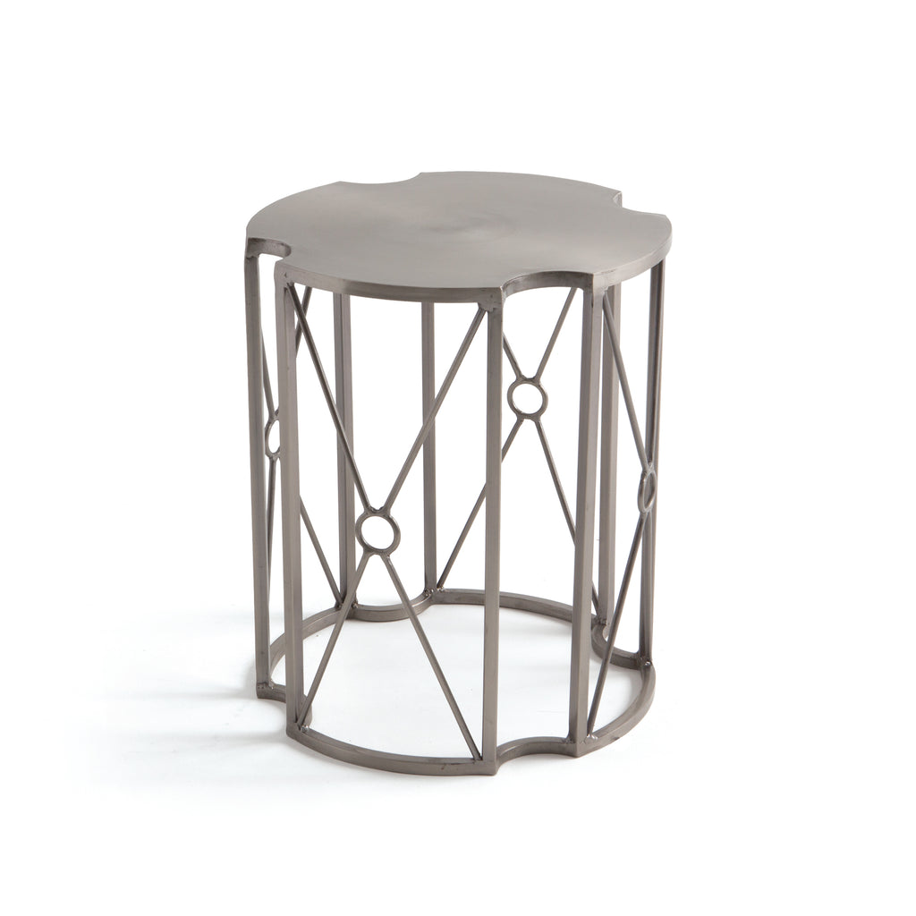 Spacey Iron Side Table