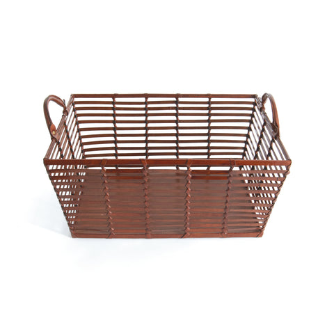 Mitchell Leather Basket
