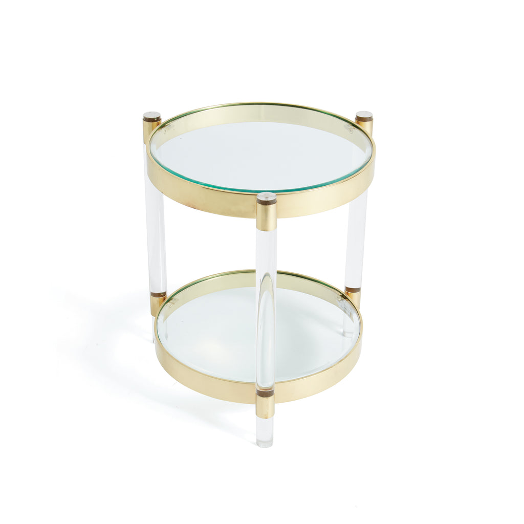Parrish Acrylic Side Table