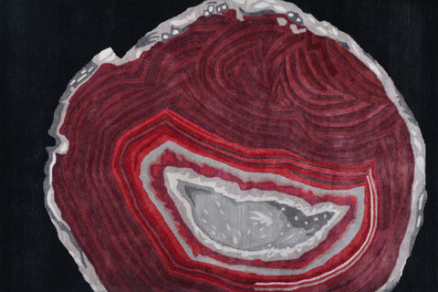 Agate Red and Black