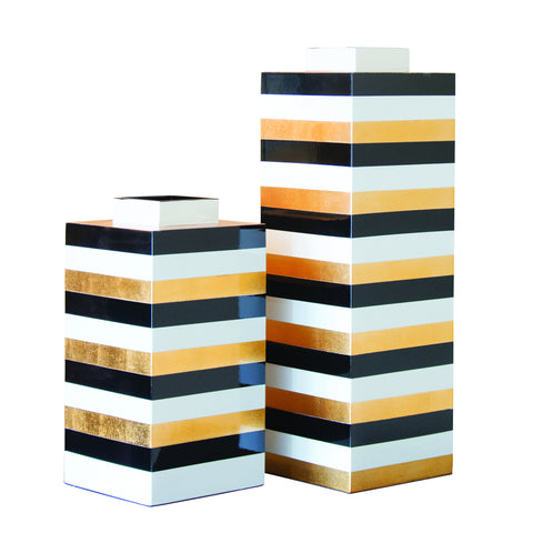 Belgravia Square Vases (Set of 2)