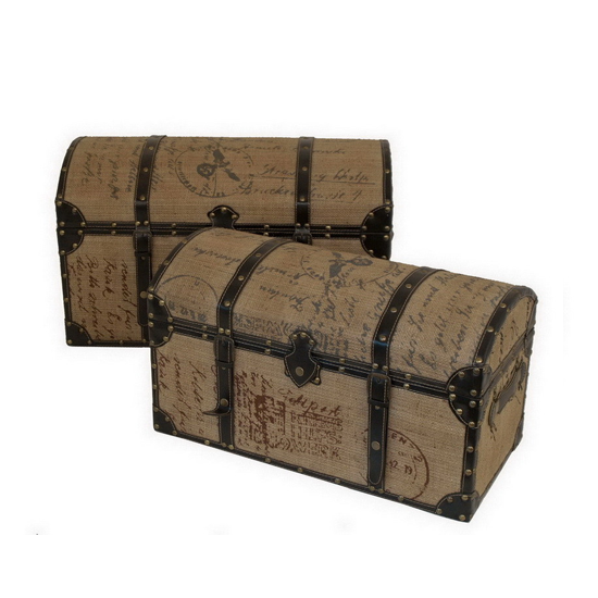 Amelia Decorative Trunk Set
