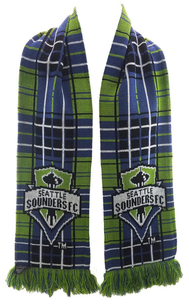SEATTLE SOUNDERS SCARF - Tartan - Ruffneck Scarves - 2