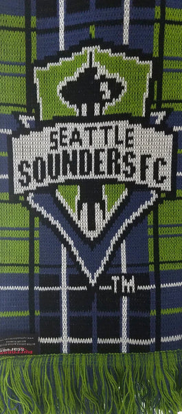 SEATTLE SOUNDERS SCARF - Tartan - Ruffneck Scarves - 3