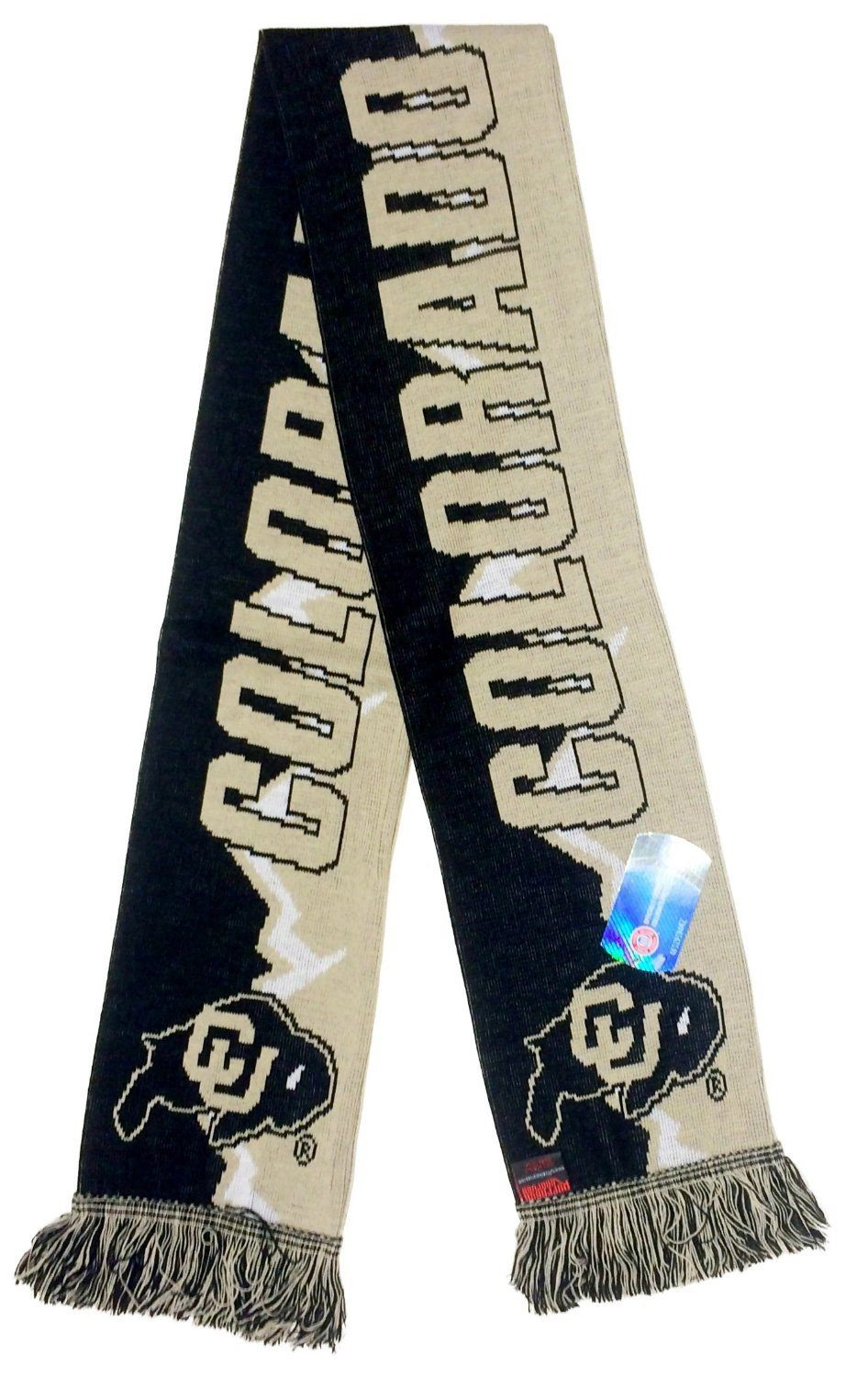 COLORADO BUFFALOES SCARF - Mountain - Ruffneck Scarves - 3