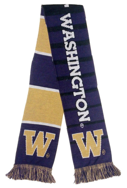 UW HUSKIES SCARF - Split Bar - Ruffneck Scarves - 4
