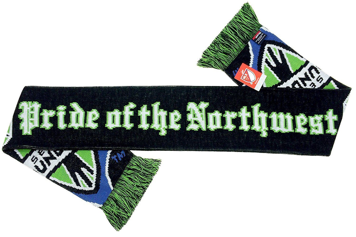 SEATTLE SOUNDERS SCARF - Pride of the Northwest