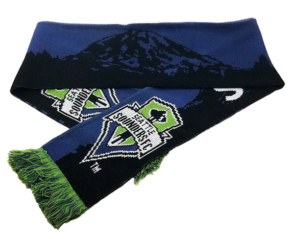 SEATTLE SOUNDERS SCARF - Mt. Rainier
