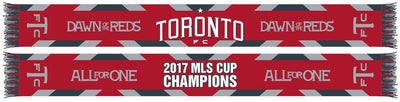 TORONTO FC SCARF - 2017 MLS Cup Champions Waves (HD Woven)