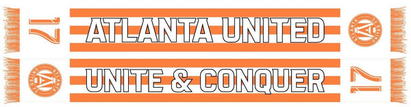 ATLANTA UNITED SCARF - Fan #17 Peach Edition