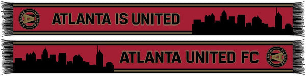 ATLANTA UNITED SCARF - Skyline Double