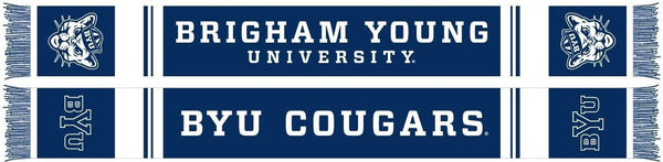BYU COUGARS SCARF - Ruffneck Scarves - 1
